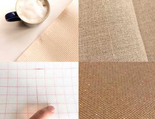 Difference between Aida, Linen, Evenweave, or Canvas cross stitch fabrics and count