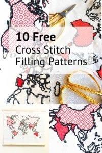 10 free cross stitch filling patterns