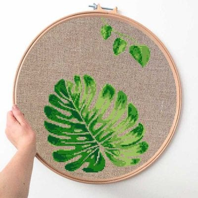 14611-monstera-cross-stitch r