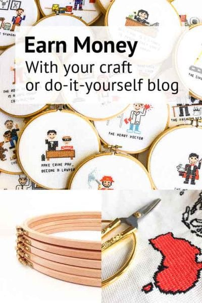 Earn money with your craft blog