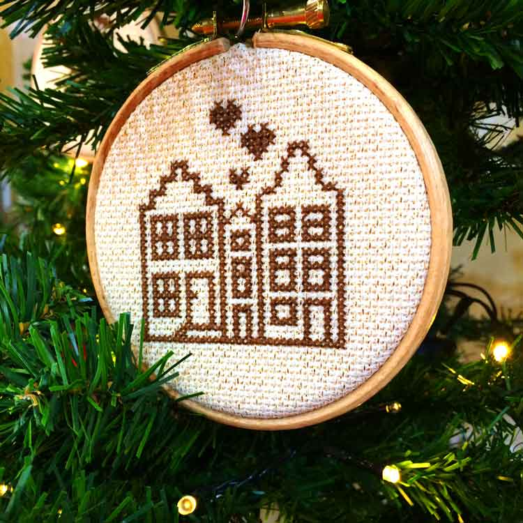 Amsterdam Ornament cross stitch kit