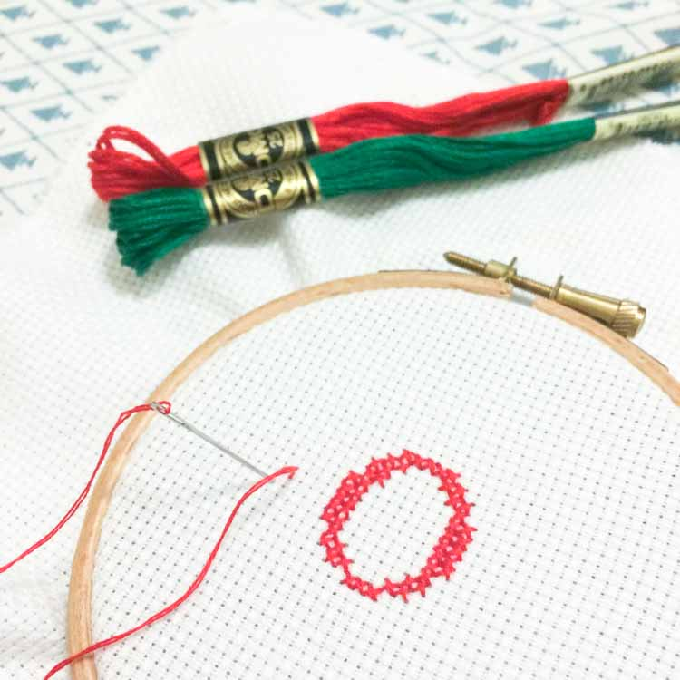 how to read a cross stitch chart joy christmas cross stitch pattern-5
