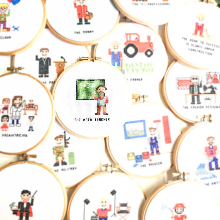 Stitch a Job Cross Stitch Kits