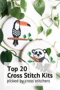 top 20 cross stitch kits picked by cross stitchers
