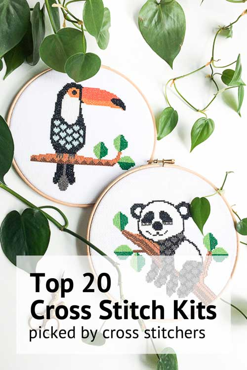 top 20 cross stitch kits picked by cross stitchers