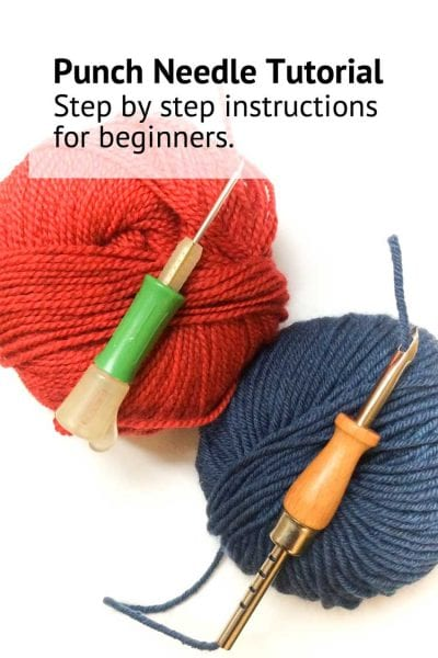 Punch needle tutorial for beginners learn how to