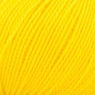11451 Lanita Yellow Eco Wool Yarn for punch needle embroidery