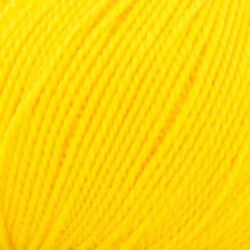11451 Lanita Yellow Eco Wool Yarn for punch needle embroidery