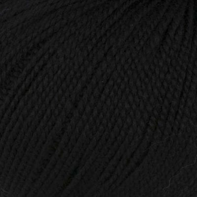 Lanita Black Eco Wool for punch needle embroidery