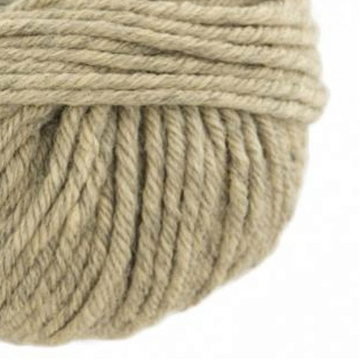 Gordita Beige Ecological Merino Wool for punch needle embroidery