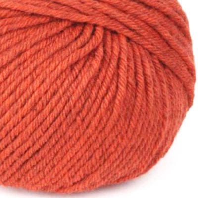Gordita Burned Orange Ecological Wool for punch needle and knitting