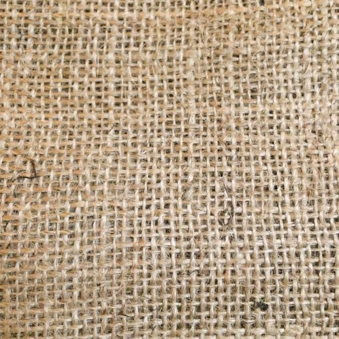 Raw Burlap natural Jute Fabric Undyed