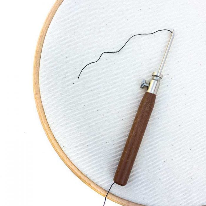 3 size punch needle studio koekoek including refill needles
