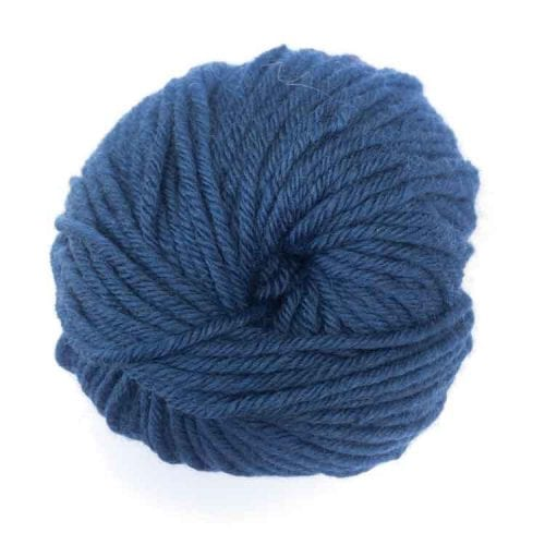 Gordita navy premium ecological wool for punch needle embroidery