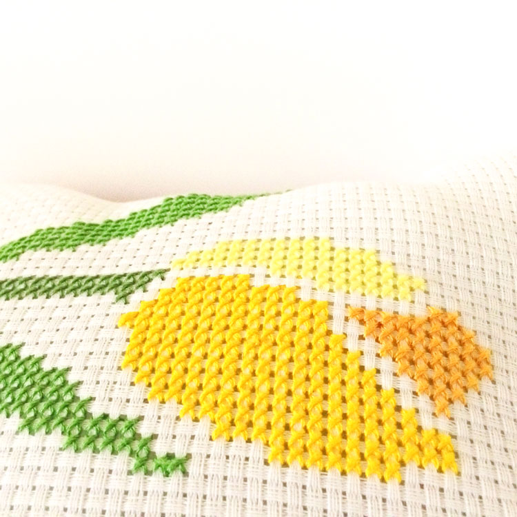 Tulip cross stitch pattern