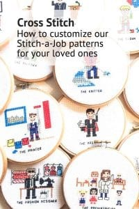 Stitch a job customize text How to customize a cross stitch portrait