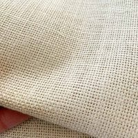 11339 linen punch needle fabric
