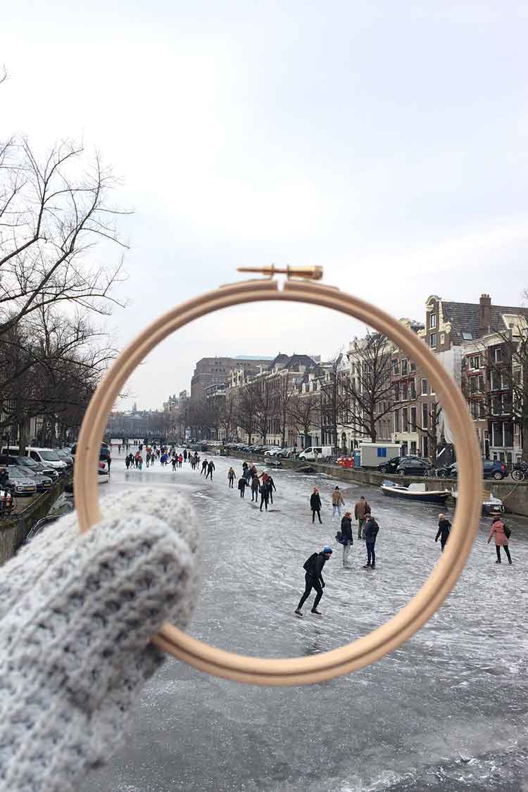 great places for cross stitching in amsterdam