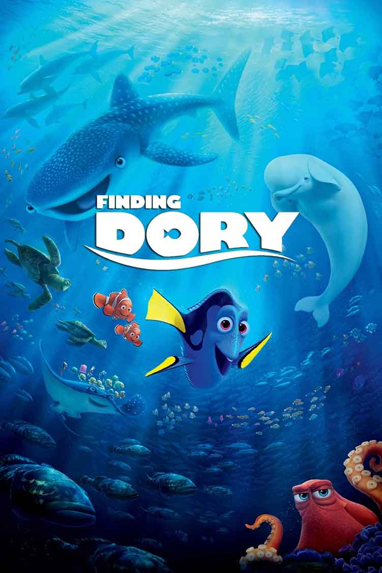finding dory series to watch while crafting