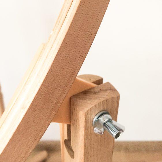 wood floor stand 53 cm quilt hoop big