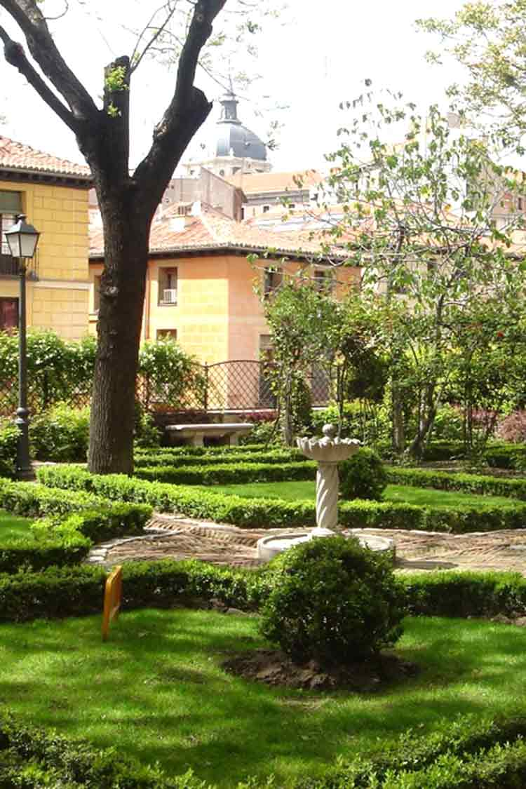 Jardin Principe Anglona hidden places in madrid centre
