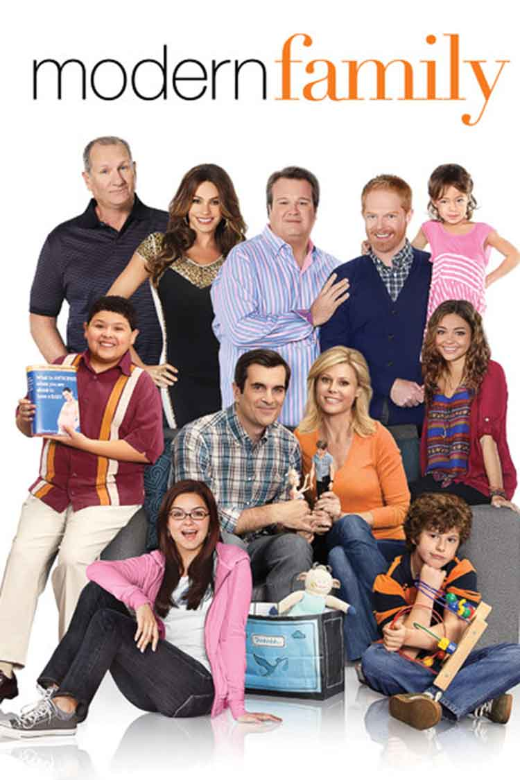modern family series to watch while weaving