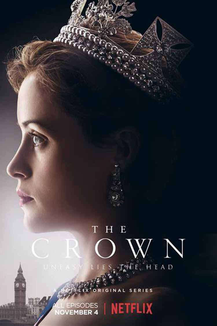 Watch the crown while cross stitching series on netflix