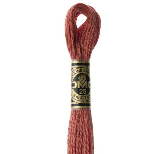 DMC 356 - Embroidery Floss Skein 8m
