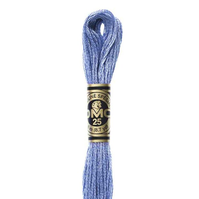 DMC 793 - Embroidery Floss Skein 8m