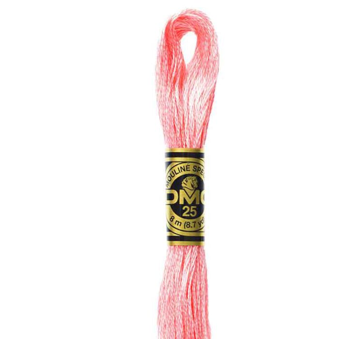 DMC 894 - Embroidery Floss Skein 8m