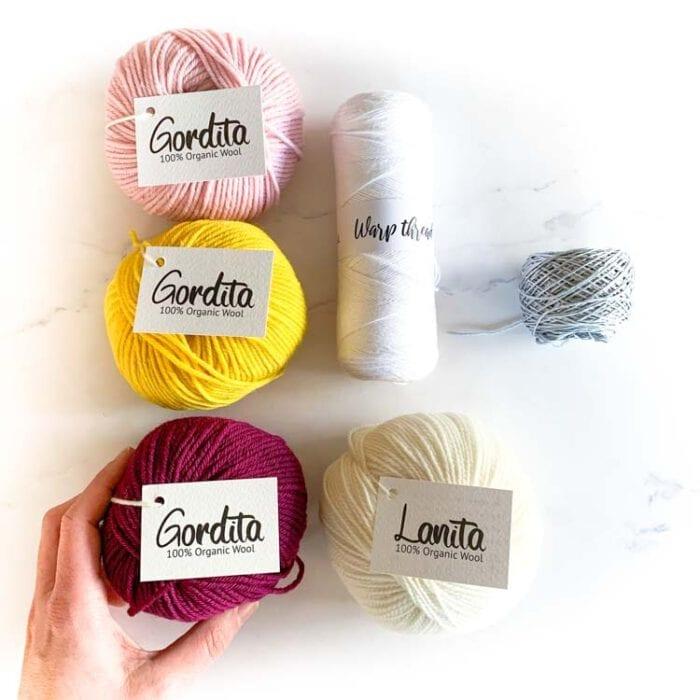 ecological weaving yarn pack color lover