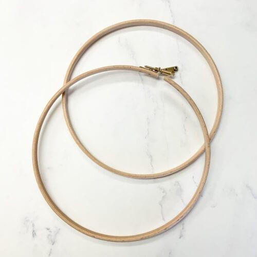 8 inch hoop broken