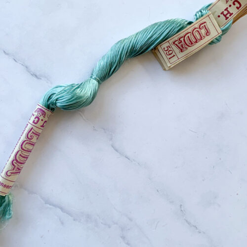 SALE vintage silk thread 51