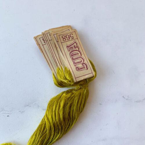 SALE vintage silk thread 568 sale 57