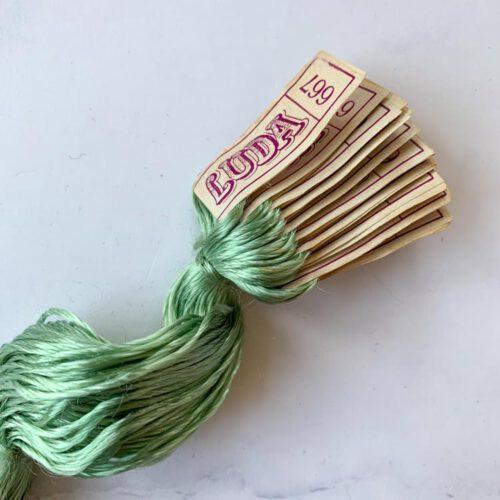 SALE vintage silk thread 667