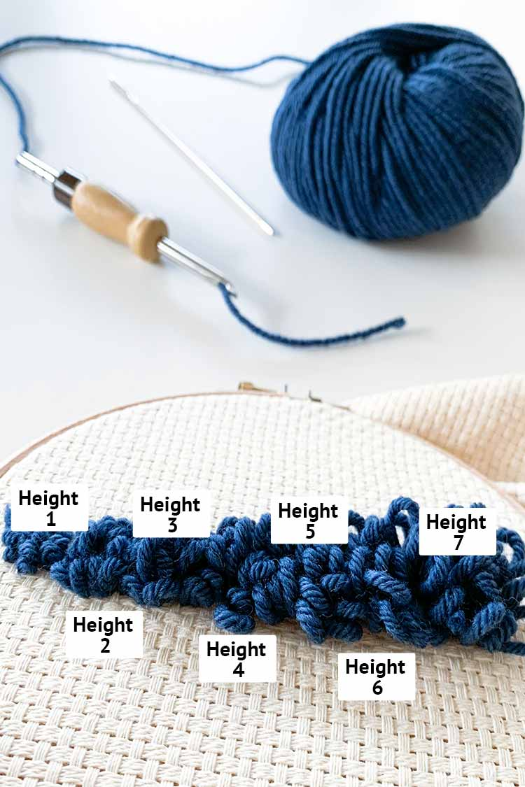 adjustable punch needle instructions