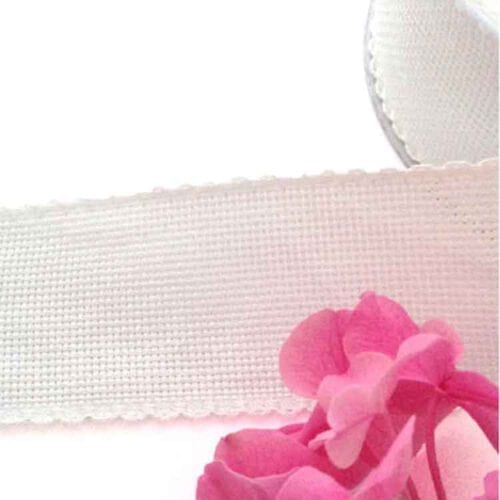 aida galon ribbon white 5cm
