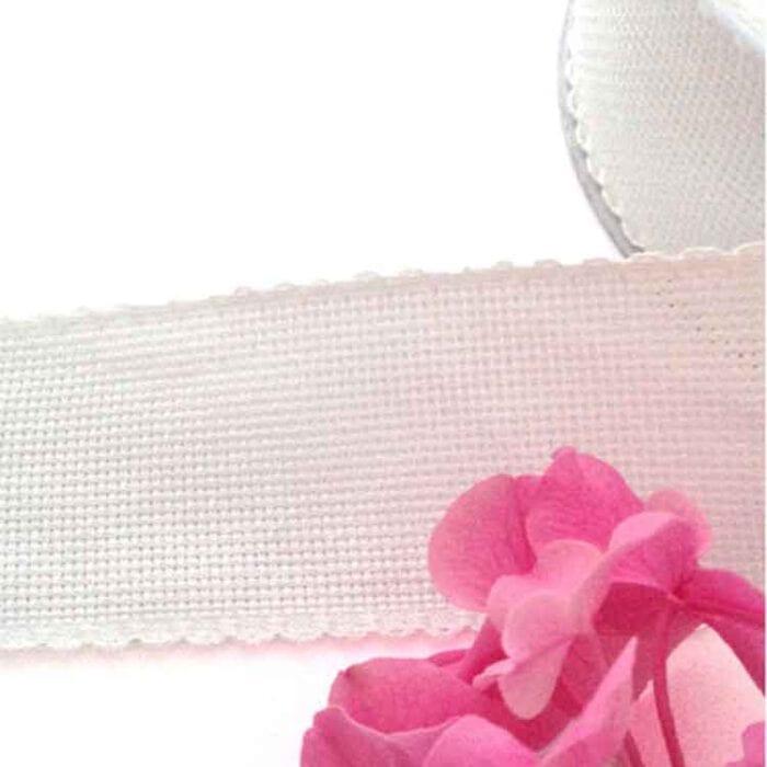 aida galon ribbon white 5cm