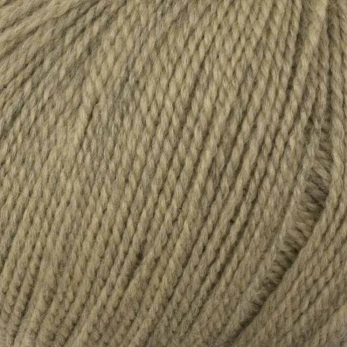 beige ecological merino wool for punch needle embroidery