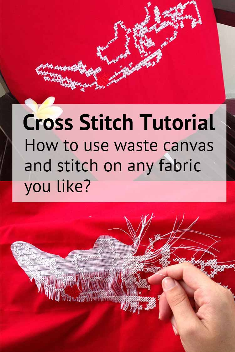blog how to use waste canvas tutorial