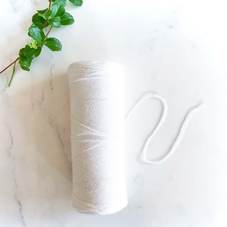 cotton warp thread 100 gram