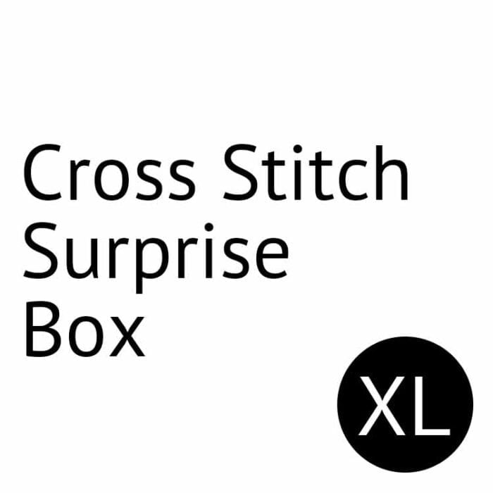 cross stitch surprise box size xl