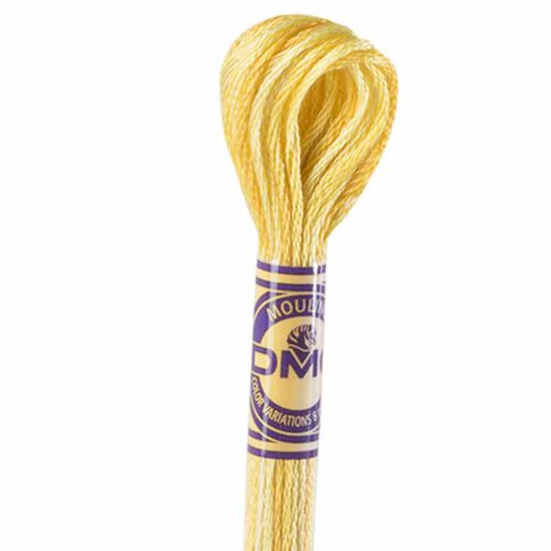 DMC Color Variations Embroidery floss skeins | Multi-colored embroidery yarn per skein of 8m - DMC 4075 Wheat Field