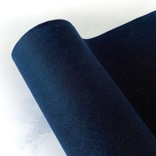 dark blue felt per meter of 45 cm