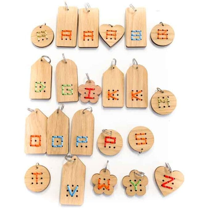 embroidered key chain hangers-2