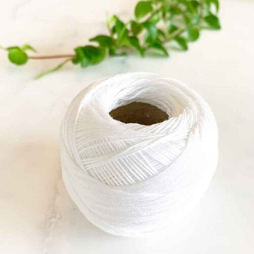 fine cotton warp thread 20 gram