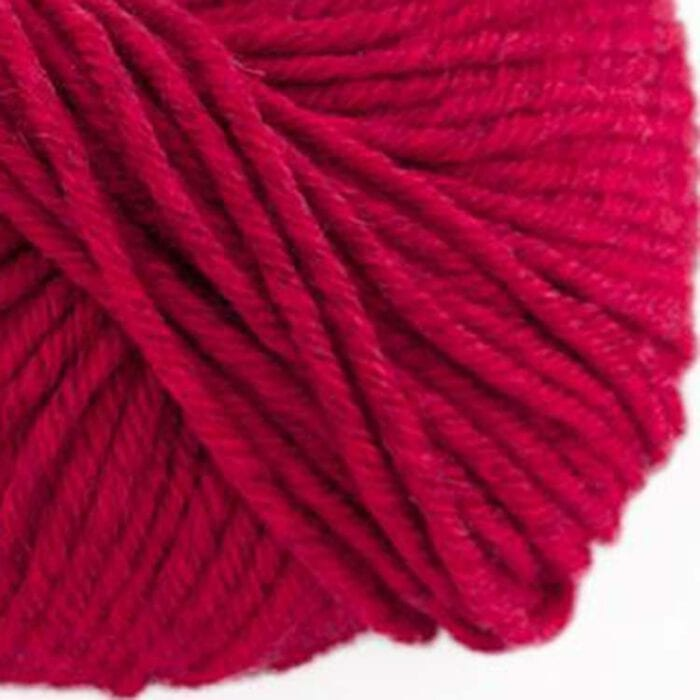 gordita fire red ecological merino wool