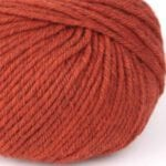 gordita orange ecological merino wool studio koekoek
