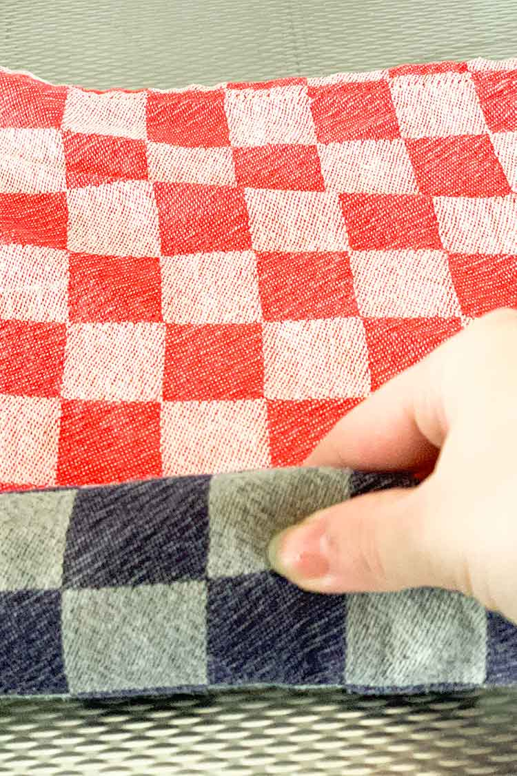 how to wash your cross stitch project instructions