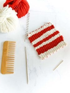 how to make your first weaving project